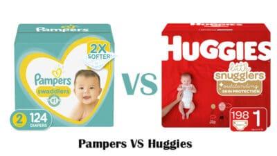 Pampers VS Huggies