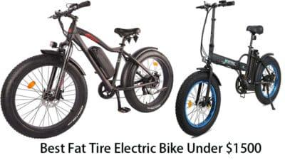 Best Fat Tire Electric Bike Under $1500