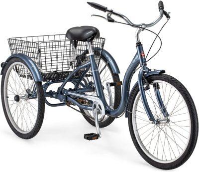 Schwinn Meridian Adult 24-Inch 3-Wheel Bike