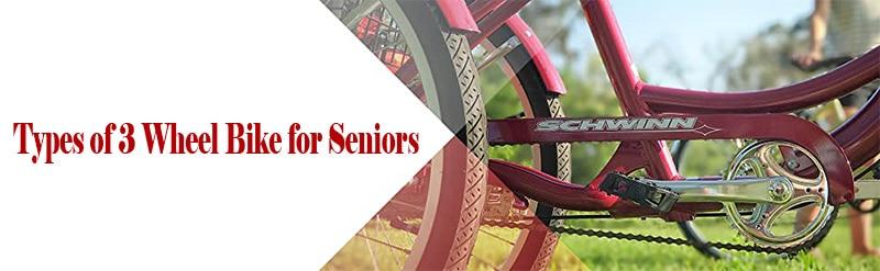 Types of 3 Wheel Bike for Seniors