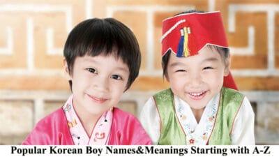 korean boy names