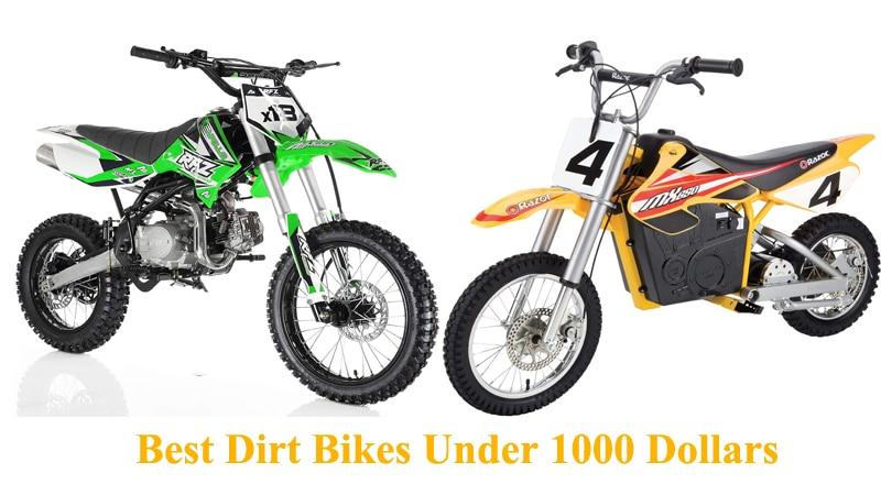 Best Dirt Bikes Under 1000 Dollars