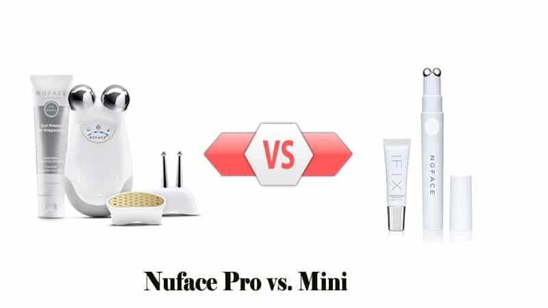Nuface Pro vs. Mini