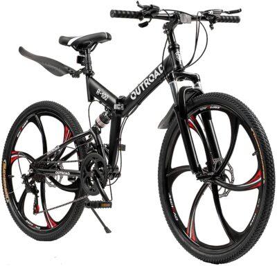 26 Inch Folding Mountain Bike