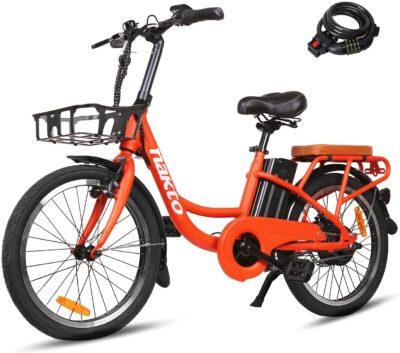 """20""""Electric Bike, 250W Dual Disc Brake Ebike for Female"""